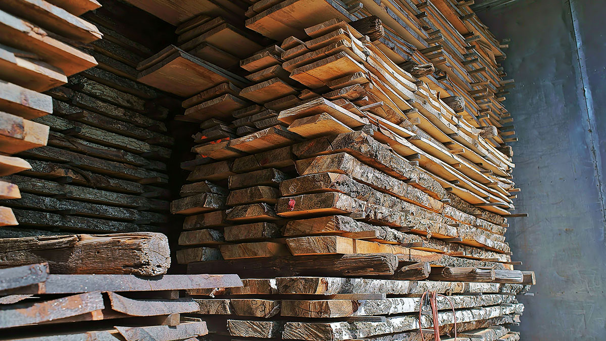 Suszenie drewna - TRAK Swarzędz
